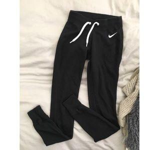 Nike women's sportswear joggers sweats black XS